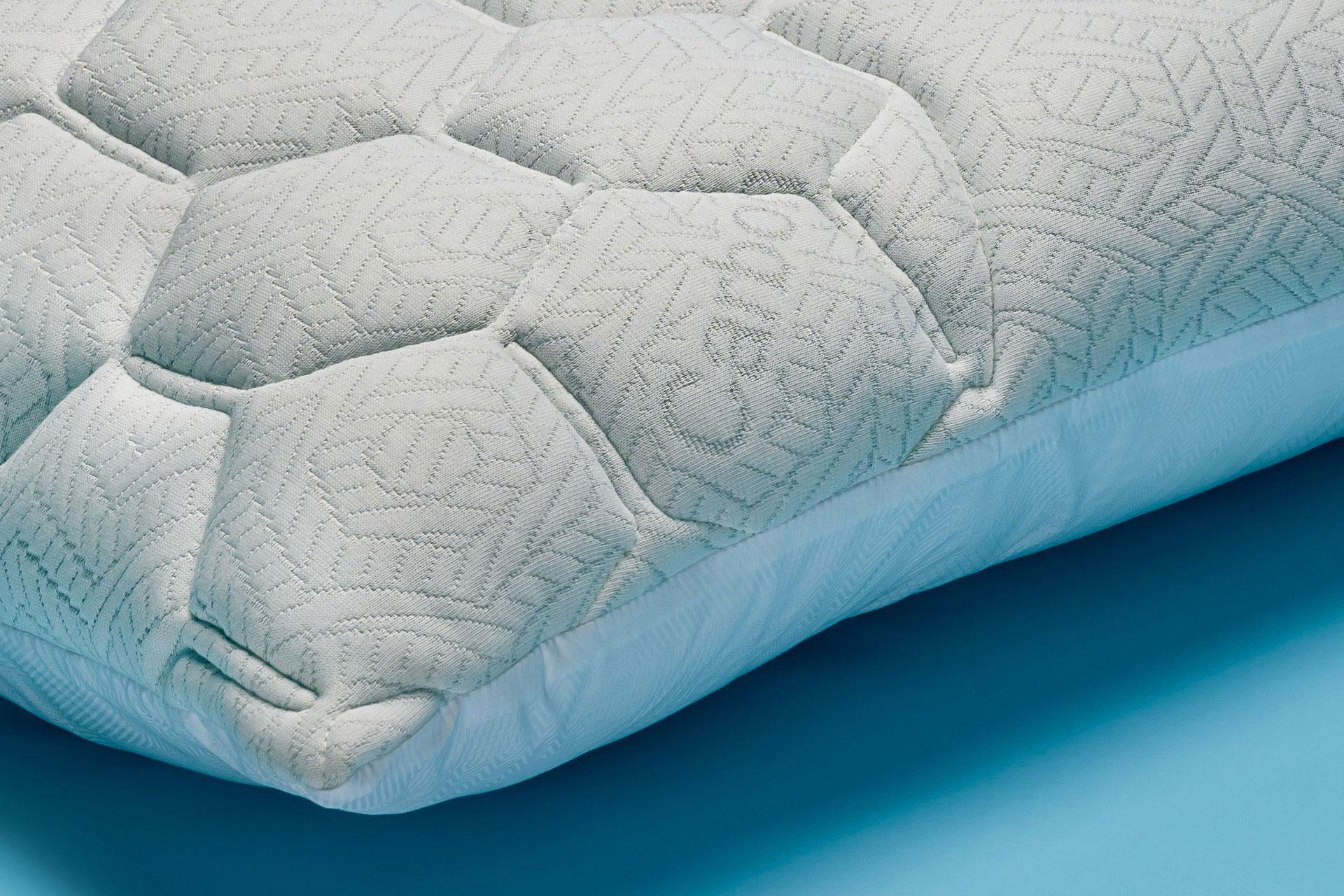 Dettaglio Cuscino in cotone e carbonio