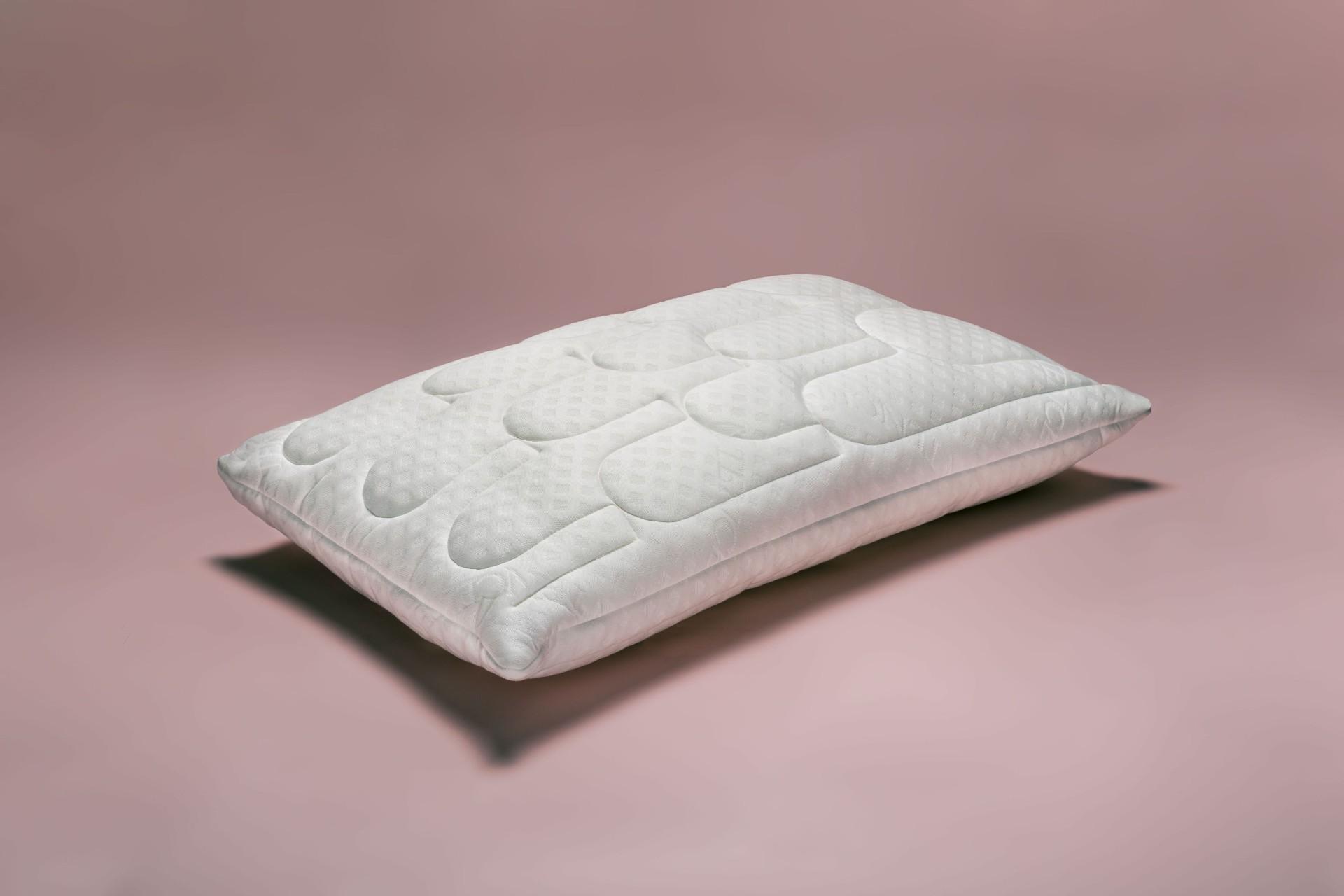 Cuscino in lattice naturale alto