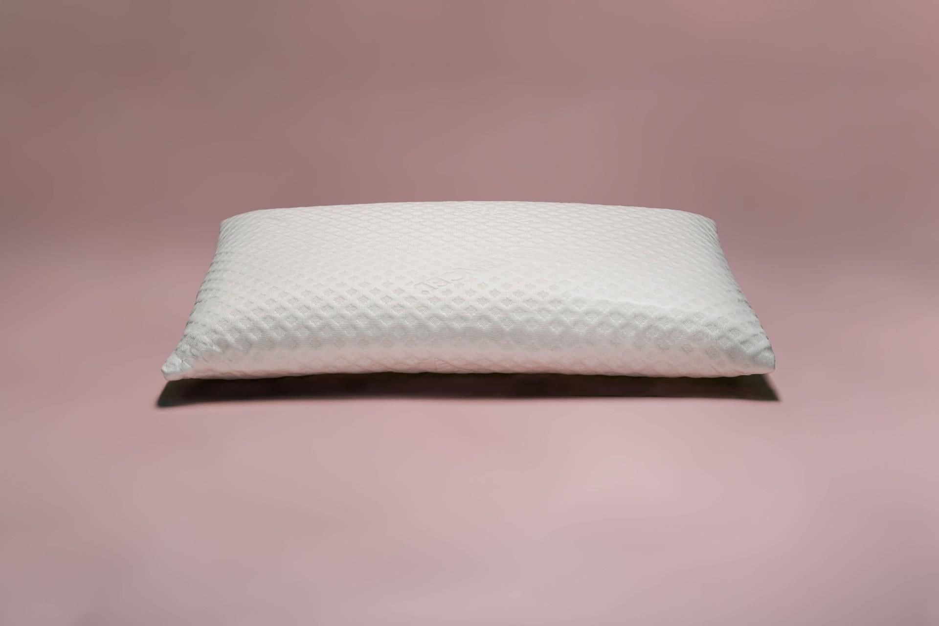 Cuscino in lattice naturale basso