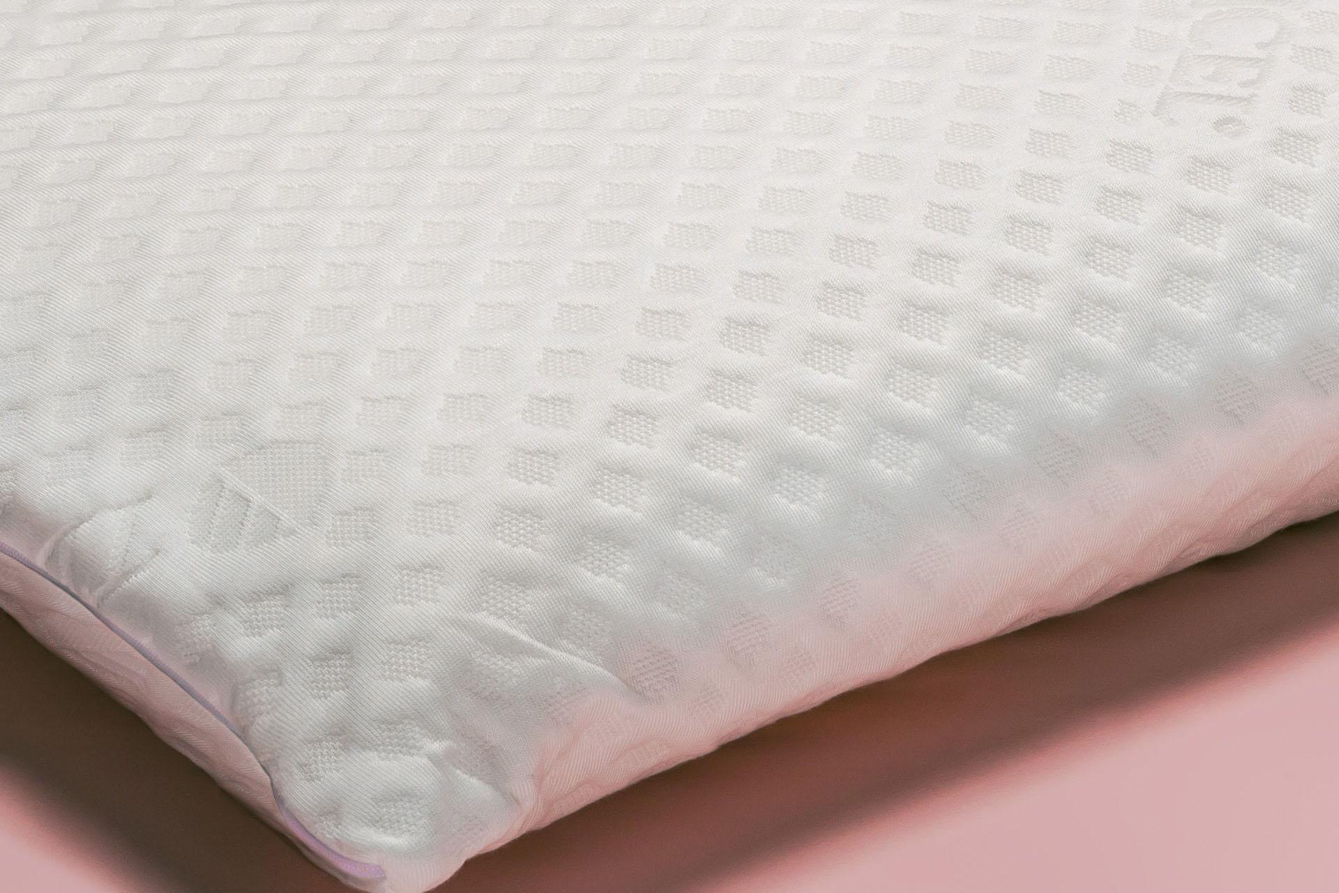 Dettaglio Cuscino in lattice naturale basso