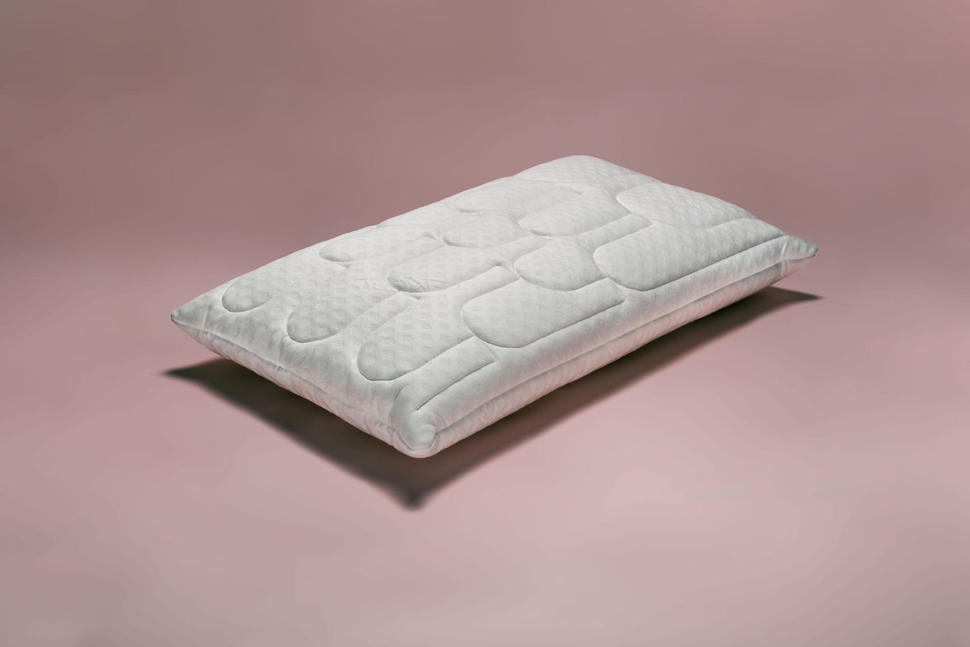 Cuscino in lattice naturale altezza media