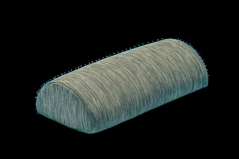 Cuscino funzionale mezzo cilindro in memory