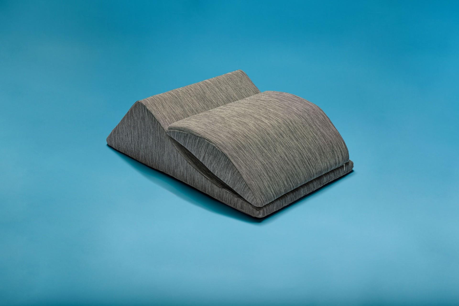 Cuscino solleva gambe adattabile grigio