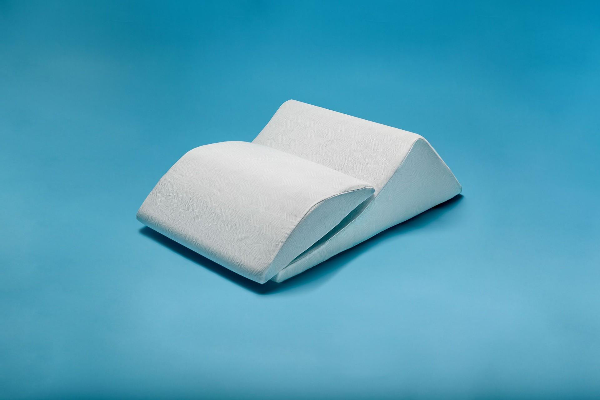 Cuscino solleva gambe adattabile bianco