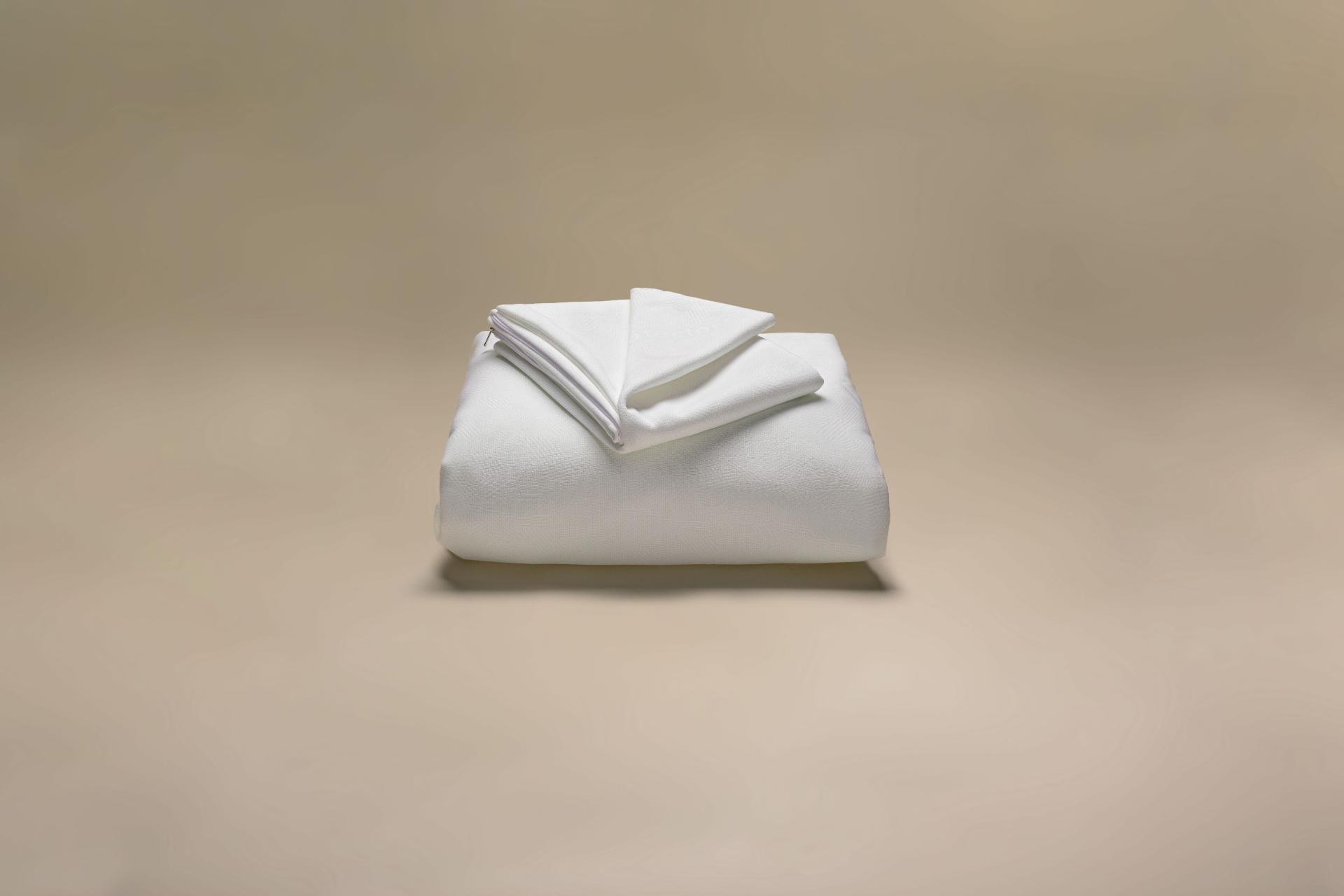copricuscino a maglia semi imbottito antimacchia teflon a cappuccio