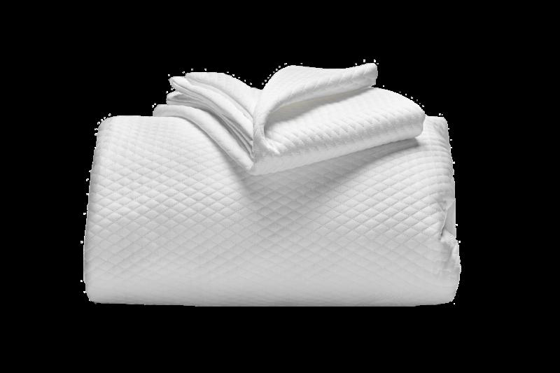 copricuscino coprimaterasso a maglia semi imbottito termoregolatore cooler a cappuccio