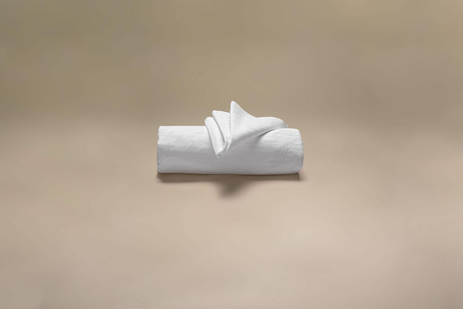 copricuscino coprimaterasso in raso di cotone sanforizzato a cappuccio