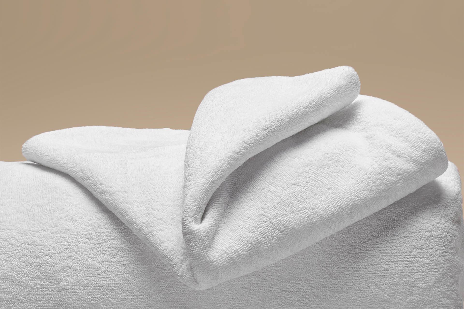 coprimaterasso elasticizzato a cappuccio dettaglio